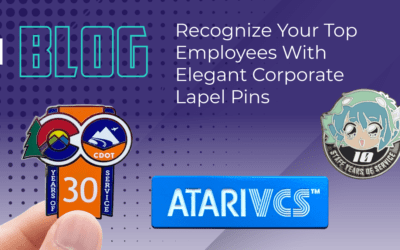 Recognize Your Top Employees With Elegant Corporate Lapel Pins