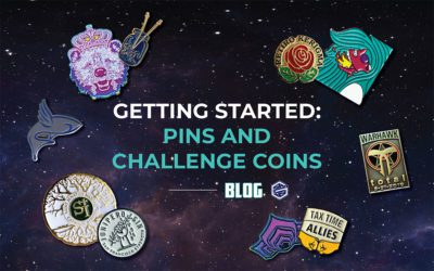 Getting Started: Pins and Challenge Coins